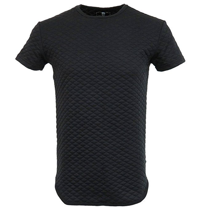 Short sleeve quilted tee