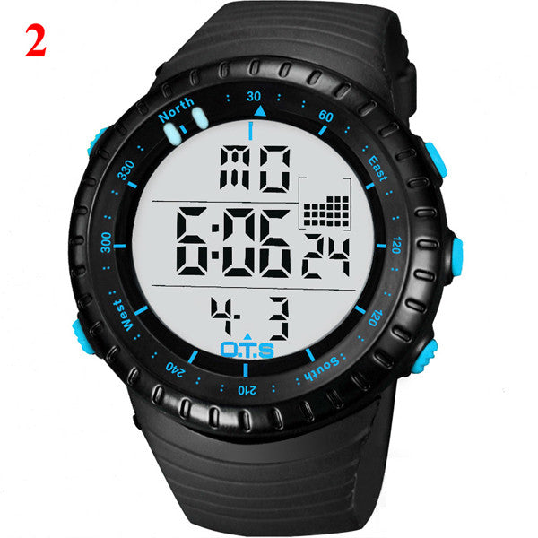 Large Dial Luminous Fashion Watch