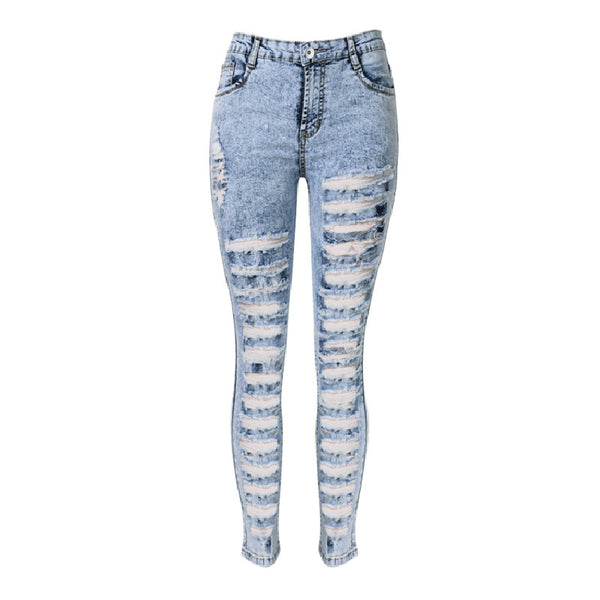 High Waisted Pencil Tight Women Jeans