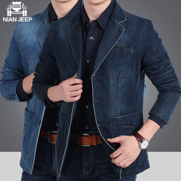All Purpose Casual Denim Men's Jacket