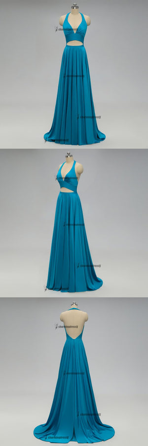 2019 Teal Long Cheap Mismatched  Elegant New Fashion Bridesmaid Dress for wedding guest, ,WG296