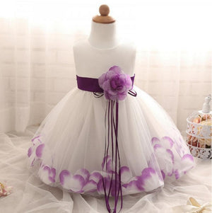 Beautiful Handmade Lovely Flower Girl Dresses, Wedding Cheap Little Girl Dresses with Flowers, FGS021