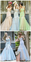 Sweetheart lace and tulle Elegant Gorgeous Charming Prom Dresses, Long Strapless Prom Dress, PD0431