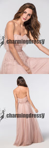 Tulle Sleeveless Elegant Cheap Fashion Modest Party Newest Prom Dresses, Evening Dresses, PD0382
