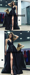 Spaghetti Straps Sexy Formal Prom Dresses, Elegant Fashion Custom Prom Dress Online, PD0408
