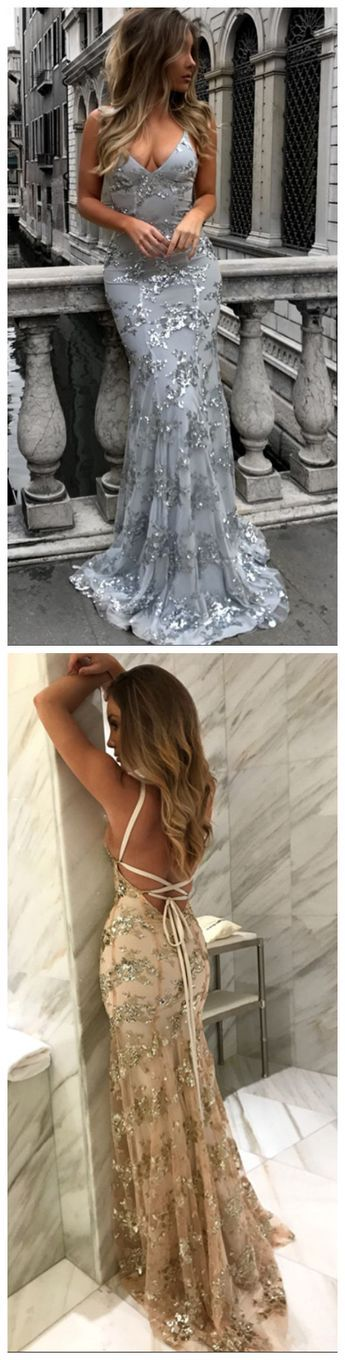 2019 Lace Popular Fashion Mermaid Prom Dresses, New Arrival Unique Charming Sexy Prom Dresses, PD0313