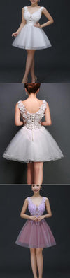 Short lace cute tight see through sexy charming unique style homecoming prom gowns dress,BD0066