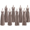 Most Popular Convertible Chiffon Gray Formal Online Cheap Long Bridesmaid Dresses, WG68