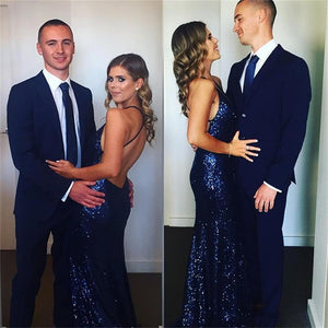 2019 Charming Sexy Spaghetti Straps Mermaid Prom Dresses, Sparkly New Unique Design Prom Dress, PD0320