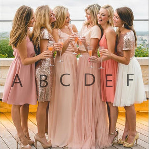 Charming Popular Newest Bridesmaid Dress, Fashion High Quality Custom Bridesmaid Bridesmaid dresses, PD0336