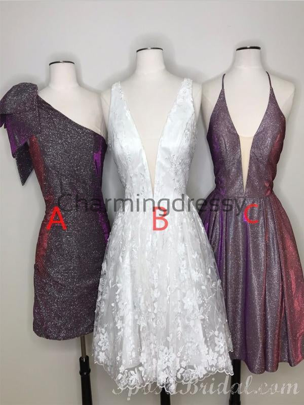 Charming New Arrival Inexpensive Custom Popular Homecoming Dresses, Short Prom Dress,BD0407