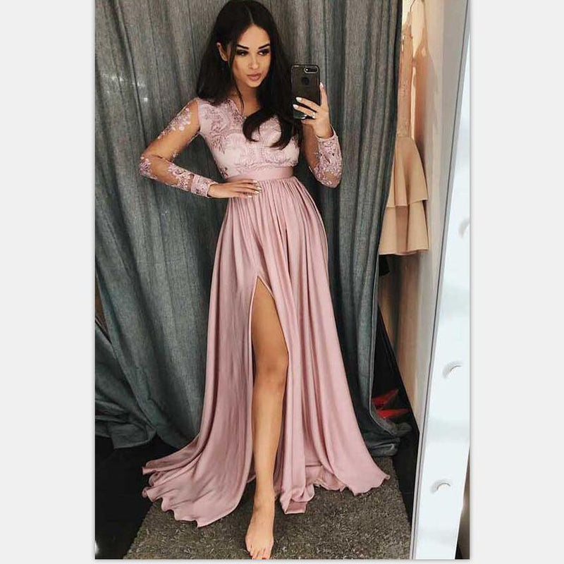 Inexpensive Long Sleeve Formal Dresses