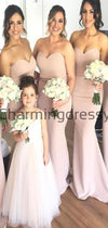 Mermaid Sweatheart Long Elegant Bridesmaid Dresses WG885