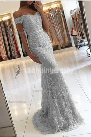 Charming Sexy Modern Fashion Prom Dresses, Off Shoulder Prom Dress, Evening Dress, PD0327