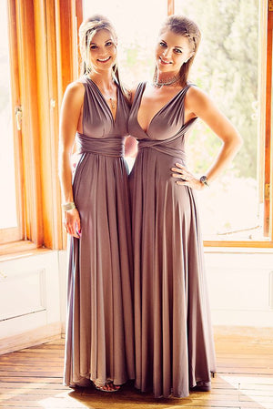 2019 New Cheap Affordable Formal Comfortable Different Color Convertible Bridesmaid Dresses, PD0261