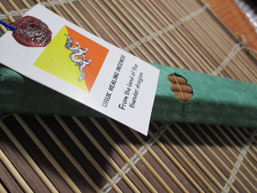 Bhutanese pure natural herbal incense ~non toxic masala style incense non stick style