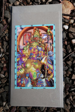 goddess greeting card Princess Mandarava  ~ buddhist inspired blank gift cards