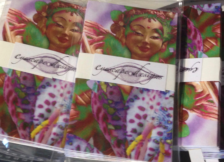 beautiful buddhist inspired gift cards for any occasion in pack of 5
