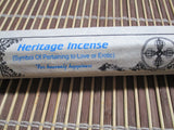 Heritage Incense - non toxic, medicinal, herbal Tibetan Incense