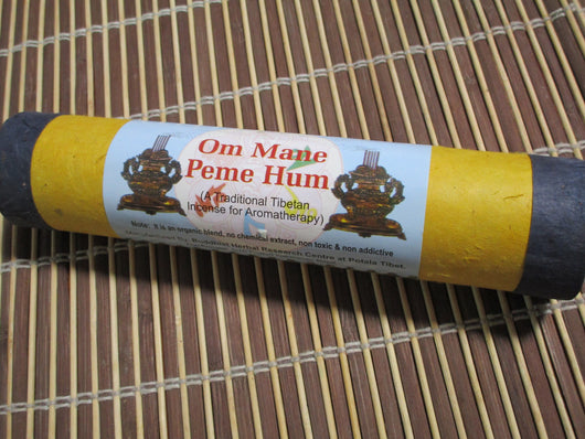 Tibetan Incense ~ Natural pure herbal Om Mani Padme Hum ~ medicinal