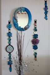 Blue Dolphins Mirror ~ home decor