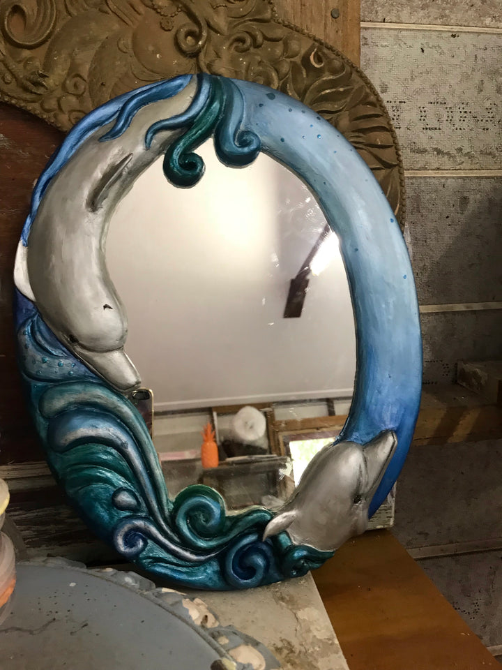 Dolphins delight Mirror ~ home decor