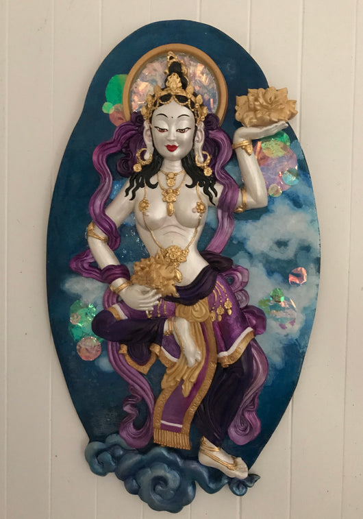 Galaxy Goddess Wall Decor
