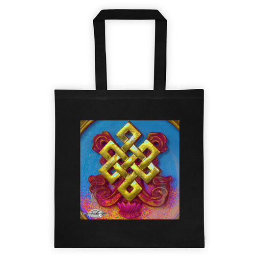 Tote bag ~ endless Knot design