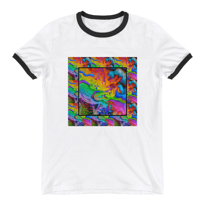 rainbow dragon psychedelic