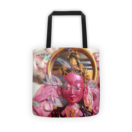 Tote bag ~ Pink Goddess ~ all over Art Print