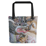Tote bag ~ full print eyescape Dragon
