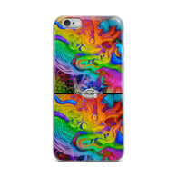 iPhone Case 2 dragons ~ rainbow