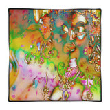 Square Pillow Case only ~ Goddess psychedelic art print