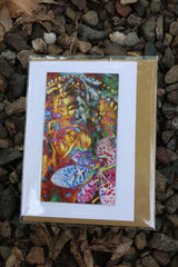 Goddess magnet front blank greeting card ~ precious queen