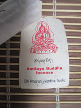 Incense~Tibetan - all natural, Amitayas Buddha