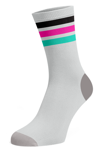 Bar Socks ( WHITE )