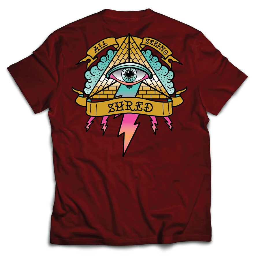Eye T-Shirt (Maroon)