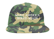 Make America Shred Snapback (Camo)