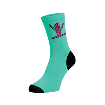 Icon Socks ( Teal )