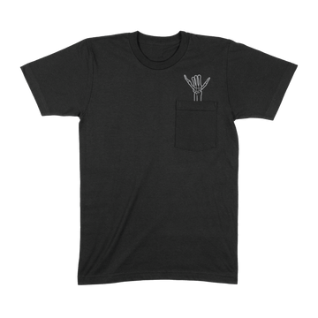 Shaka Pocket T-Shirt (Black)