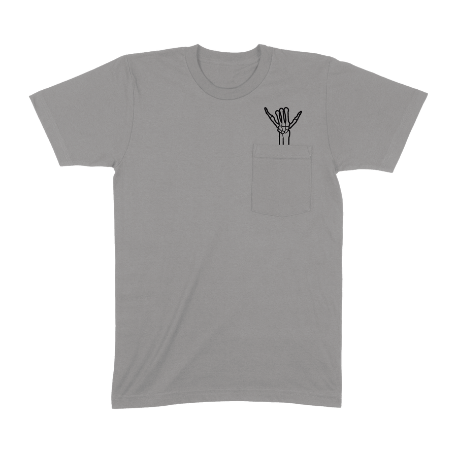 Shaka Pocket T-Shirt (Grey)