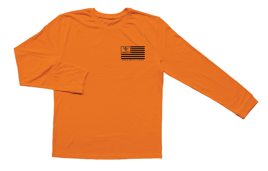 Work Flag Long Sleeve (Orange)