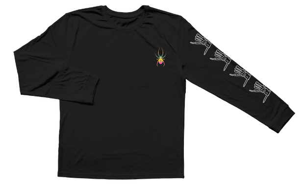Web Long Sleeve ( Black )