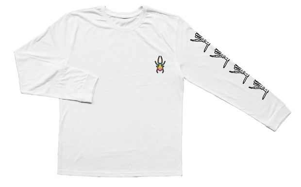 Web Long Sleeve ( White )