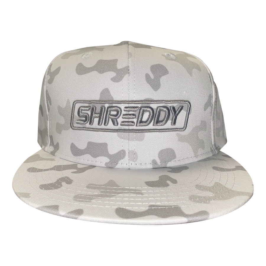 Box logo Snapback ( Snow )