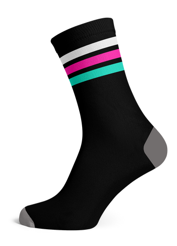 Bar Socks ( BLACK )