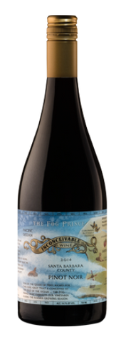 Inconceivable Wine Co The Fog Prince Pinot Noir 2014