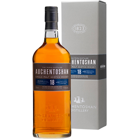 Auchentoshan 18 Years Single Malt Scotch