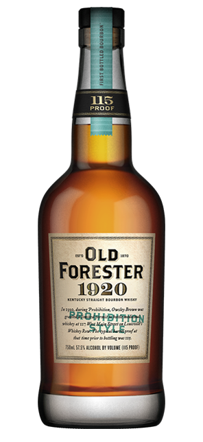 Old Forester 1920 Prohibition Style Bourbon - Wine Globe