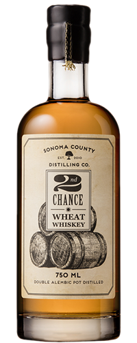 Sonoma County 2nd Chance Wheat Whiskey - Wine Globe
